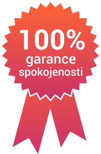 e-mailing 100% garance spokojenosti